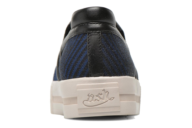 Baskets Ash Jeday Bleu vue droite