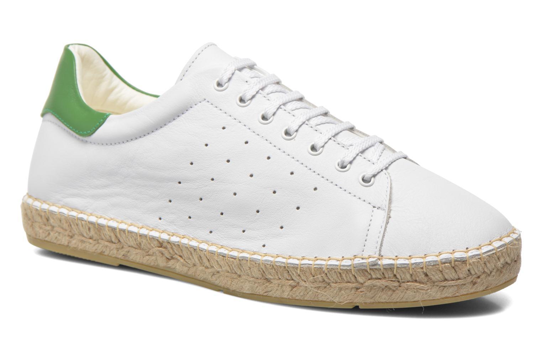 Baskets M 1030 Blanc Vert