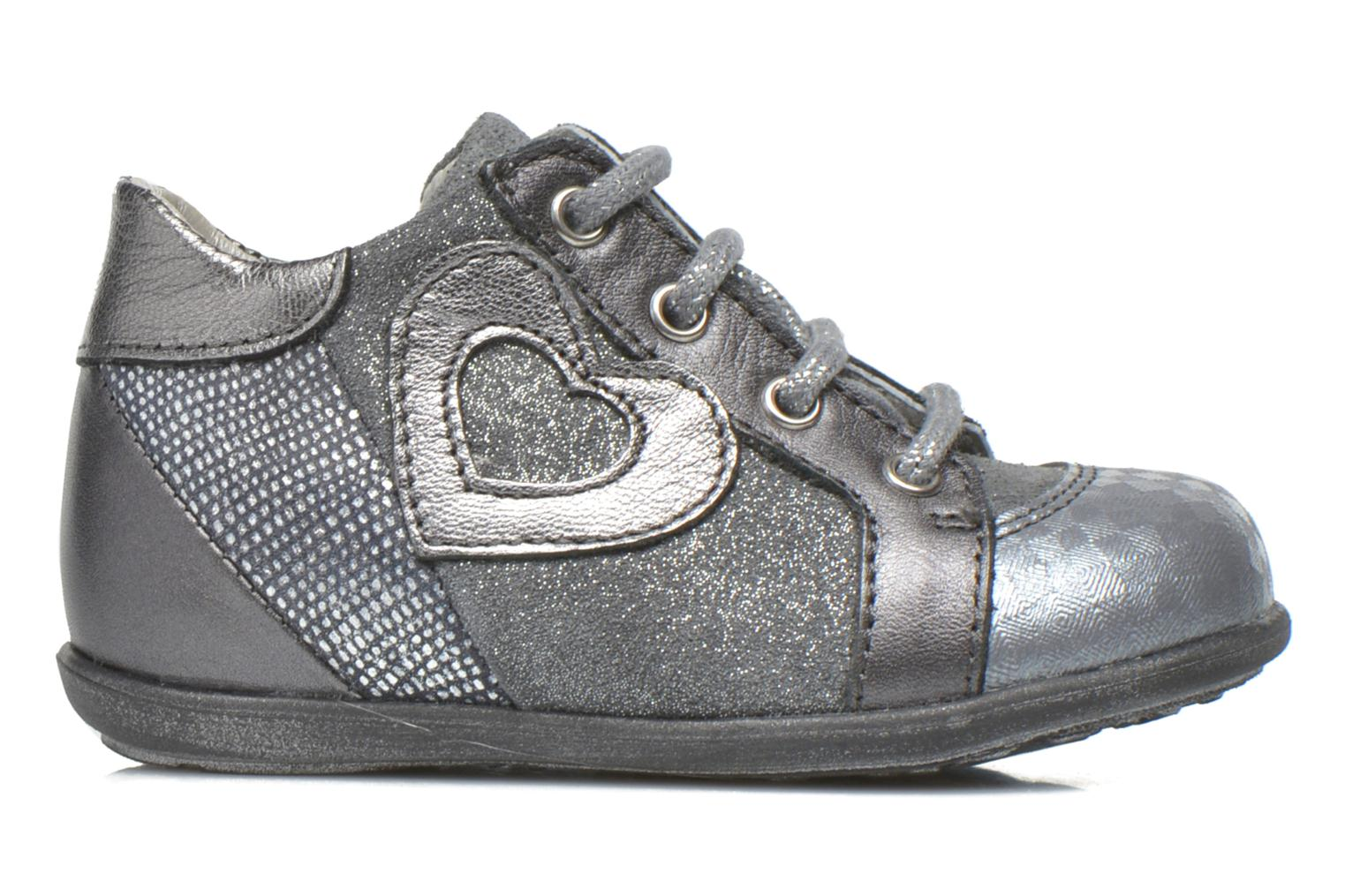 Botines  Little Mary Voici Gris vistra trasera