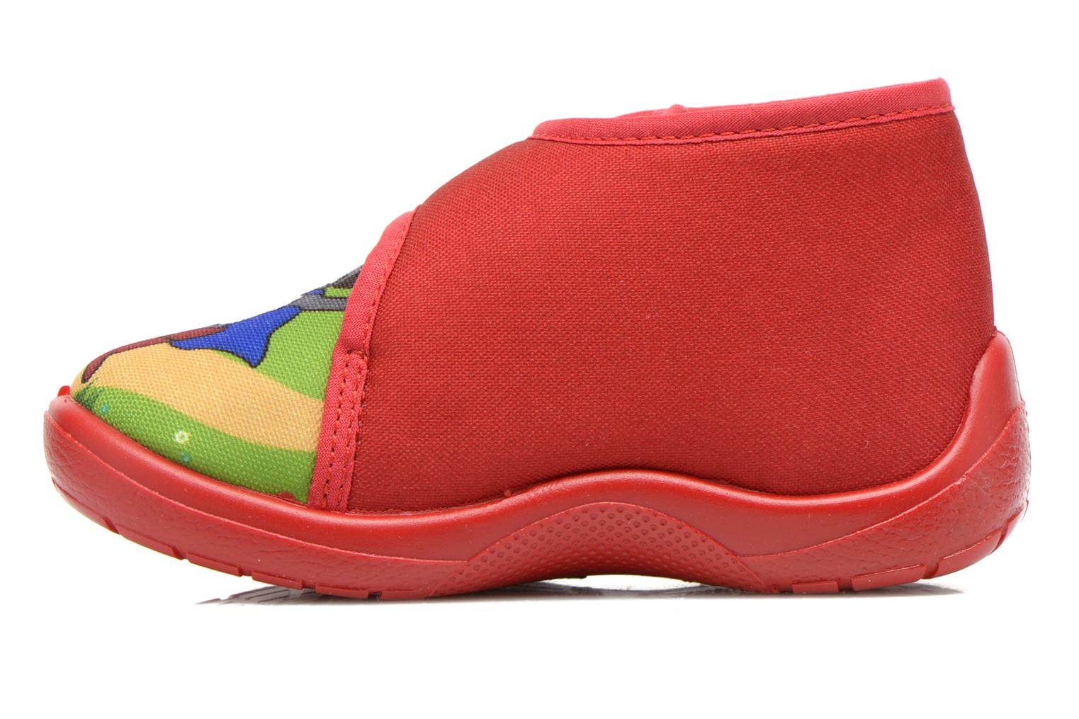 Slippers Little Mary Vchat Red front view