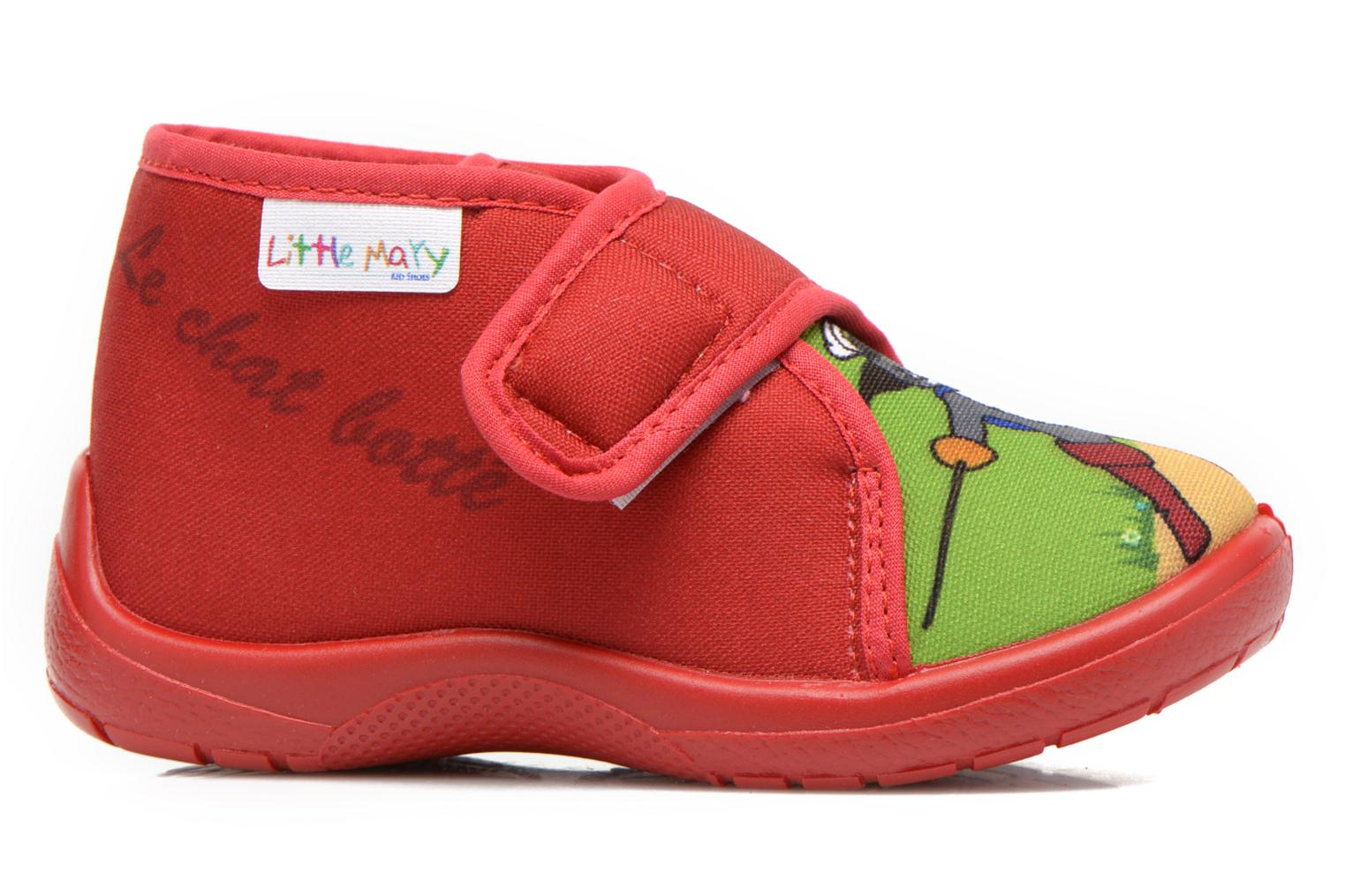Pantofole Little Mary Vchat Rosso immagine posteriore