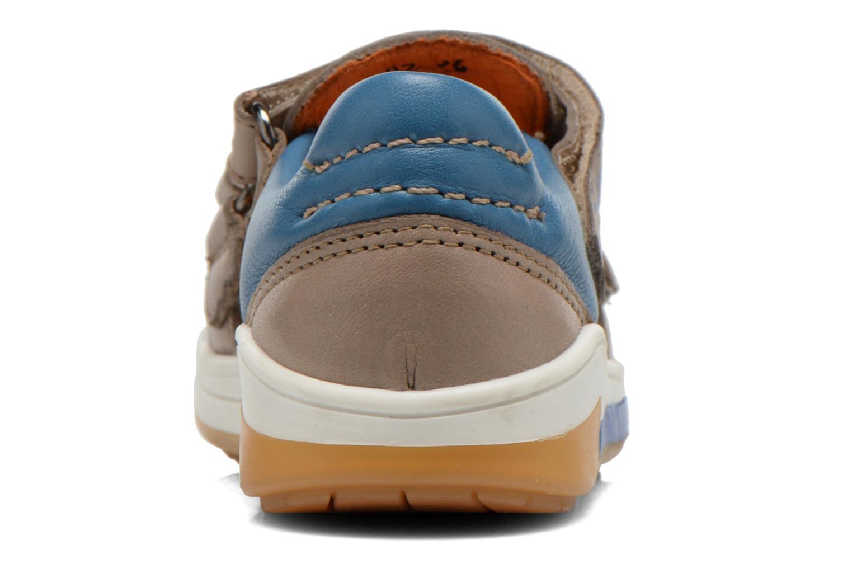 Baskets Acebo's Tempo Gris vue droite