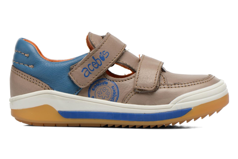 Sneakers Acebo's Tempo Grijs achterkant