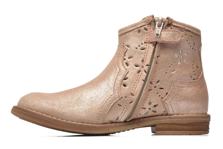 Boots en enkellaarsjes Acebo's Nerea Roze voorkant