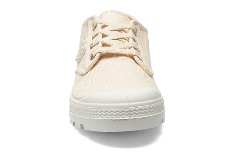 Chaussures à lacets Aigle Rubber Saint Germain Low W Beige vue portées chaussures