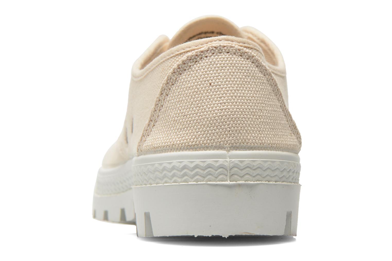 Chaussures à lacets Aigle Rubber Saint Germain Low W Beige vue droite