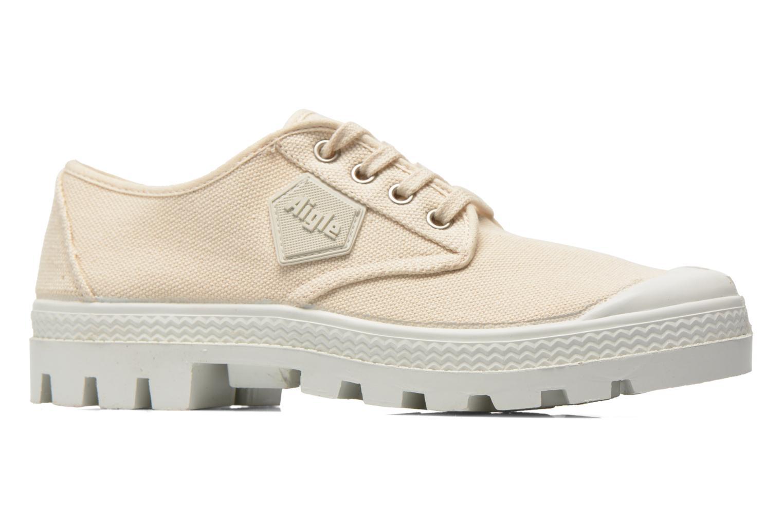 Chaussures à lacets Aigle Rubber Saint Germain Low W Beige vue derrière