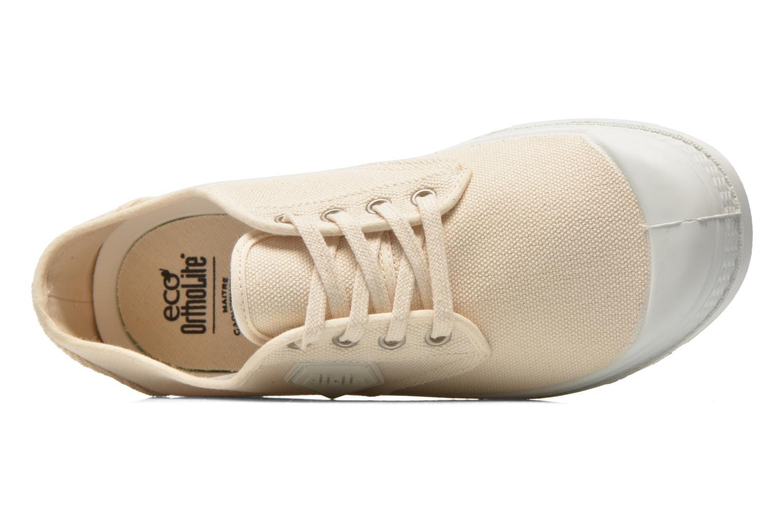 Chaussures à lacets Aigle Rubber Saint Germain Low W Beige vue gauche