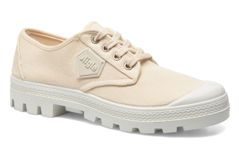 Chaussures à lacets Aigle Rubber Saint Germain Low W Beige vue détail/paire