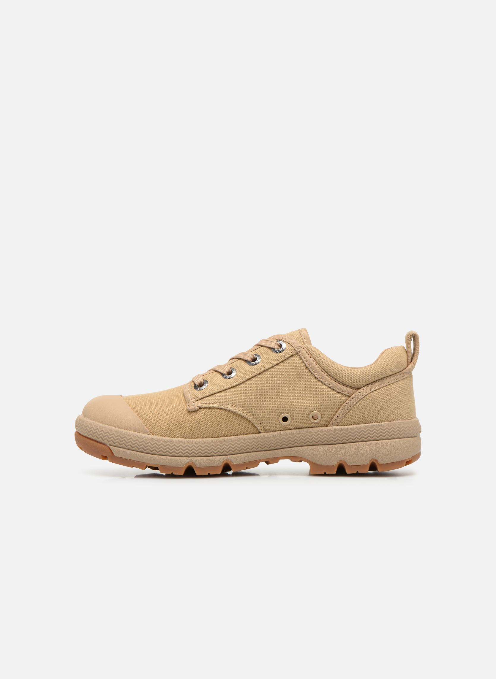 Lace-up shoes Aigle Tenere 3 Light Low W Beige front view
