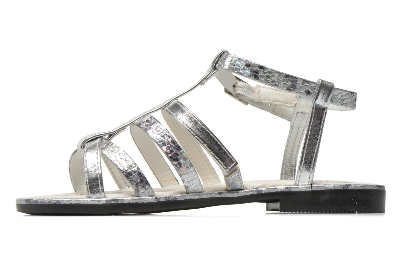 Sandales et nu-pieds Primigi Luz Argent vue face