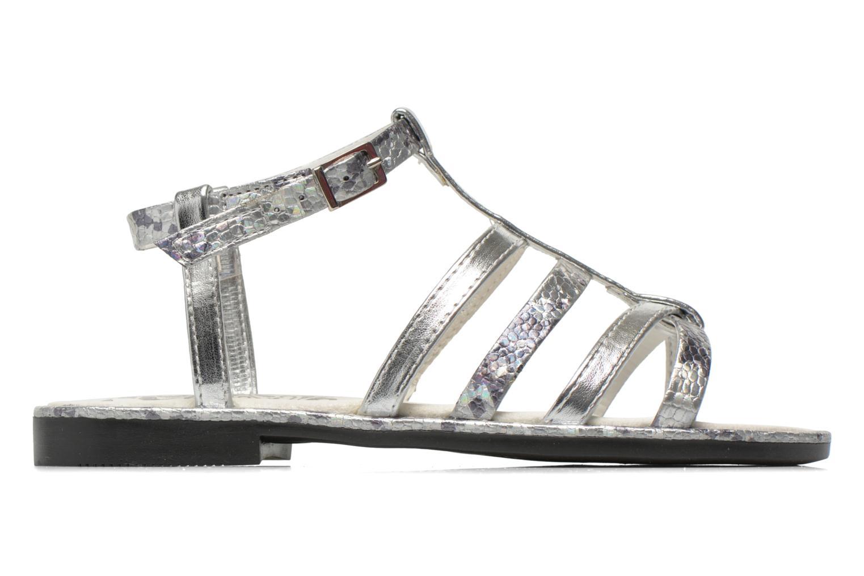 Sandales et nu-pieds Primigi Luz Argent vue derrière