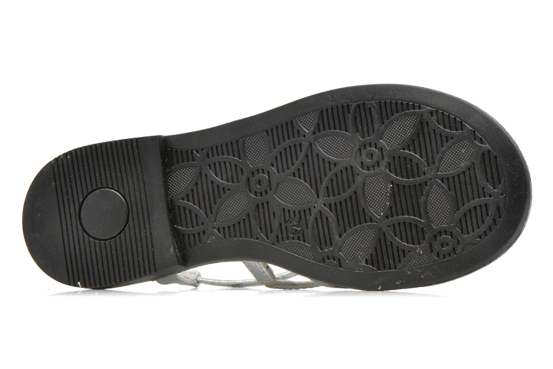 Sandales et nu-pieds Primigi Luz Argent vue haut