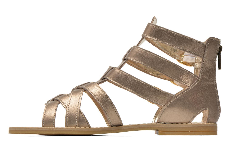Sandali e scarpe aperte Primigi Olimpia Oro e bronzo immagine frontale