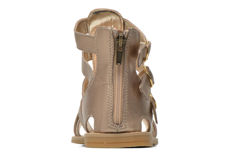 Sandali e scarpe aperte Primigi Olimpia Oro e bronzo immagine destra