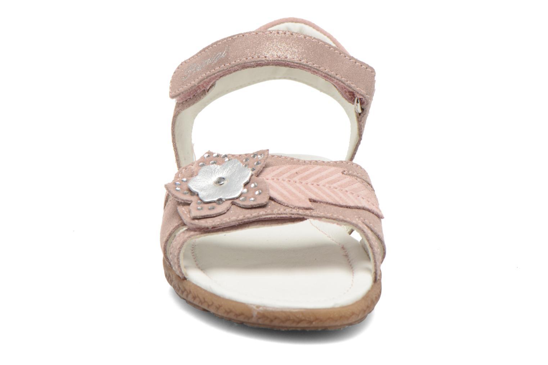 Sandales et nu-pieds Primigi Camelie-E Rose vue portées chaussures