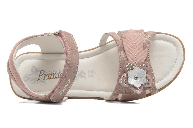 Sandalias Primigi Camelie-E Rosa vista lateral izquierda