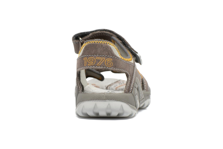 Sandales et nu-pieds Primigi Tyon-E Gris vue droite