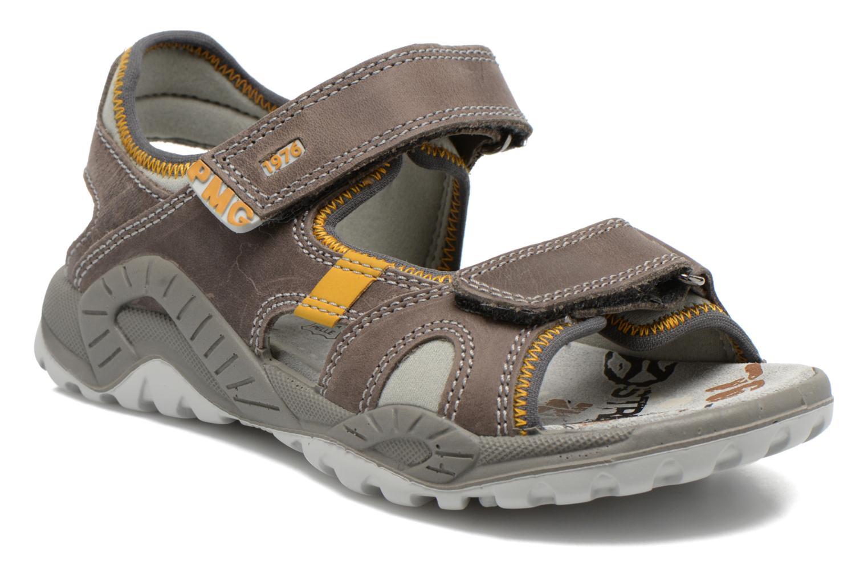 Sandals Primigi Tyon-E Grey detailed view/ Pair view