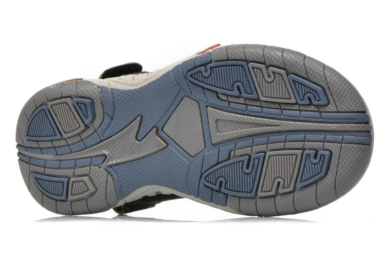 Sandales et nu-pieds Primigi Car San Light Bleu vue haut