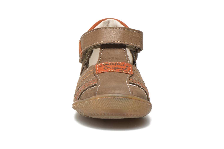 Chaussures à scratch Primigi Dany-E Marron vue portées chaussures
