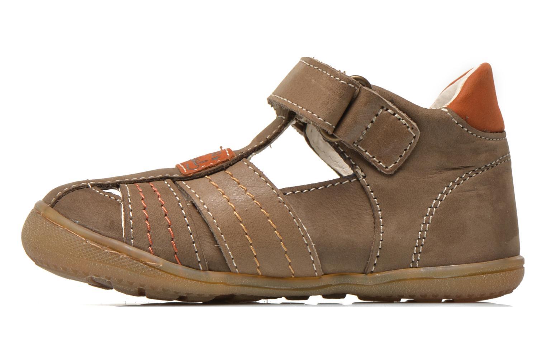 Chaussures à scratch Primigi Dany-E Marron vue face