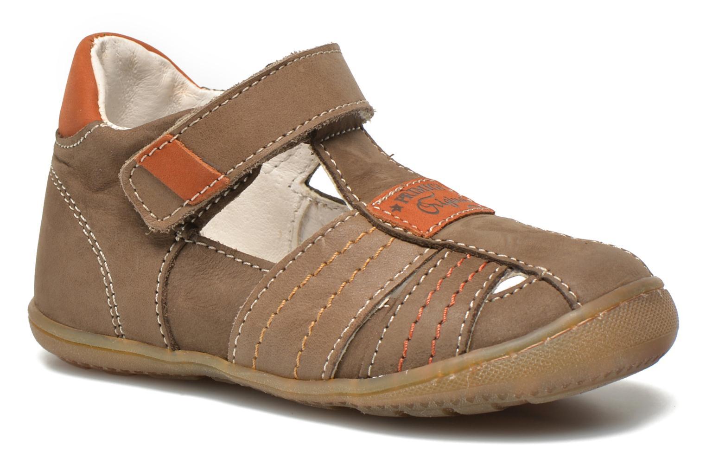 Chaussures à scratch Primigi Dany-E Marron vue détail/paire