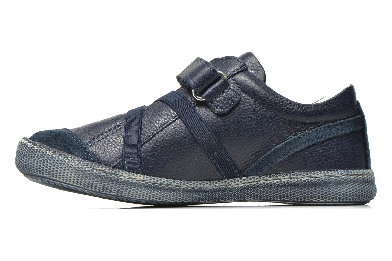 Baskets Primigi Solange 2-E Bleu vue face