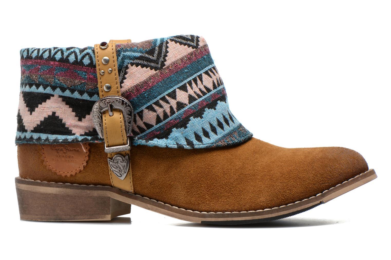 Bottines et boots Pepe jeans Bowie Multicolore vue derrière