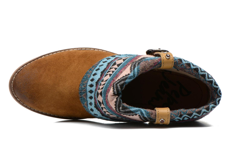 Bottines et boots Pepe jeans Bowie Multicolore vue gauche