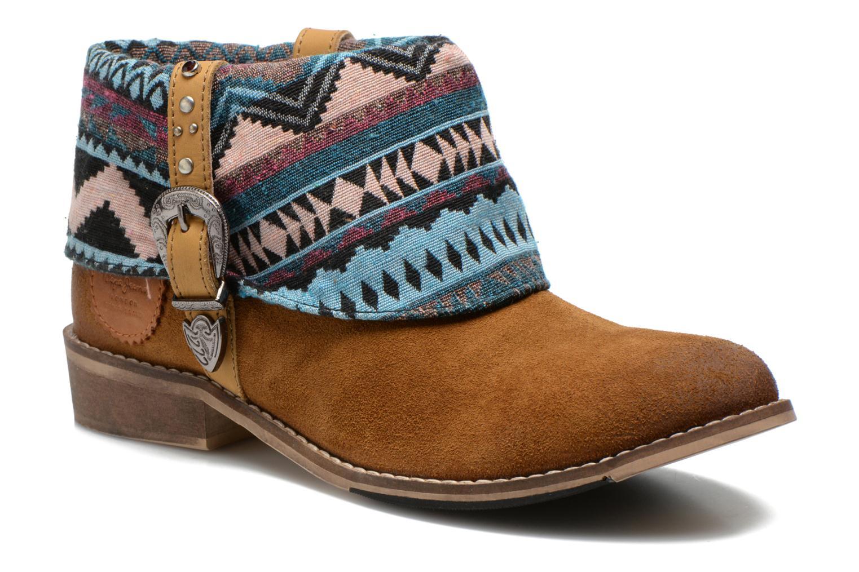 Bottines et boots Pepe jeans Bowie Multicolore vue détail/paire