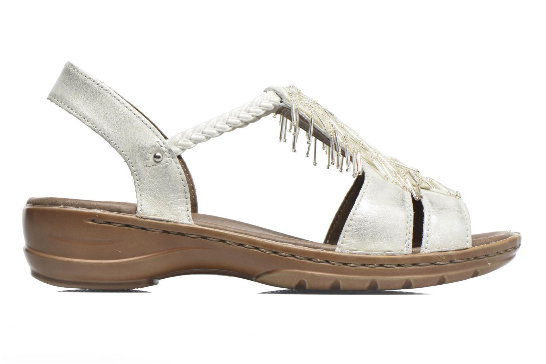 Sandales et nu-pieds Ara Hawai 2 Blanc vue derrière