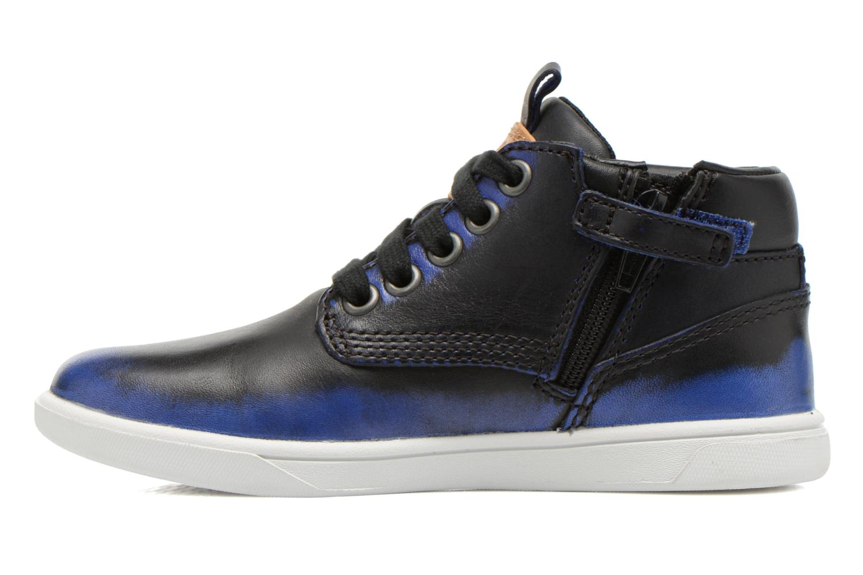 Bottines et boots Timberland Groveton Leather Chu Bleu vue face