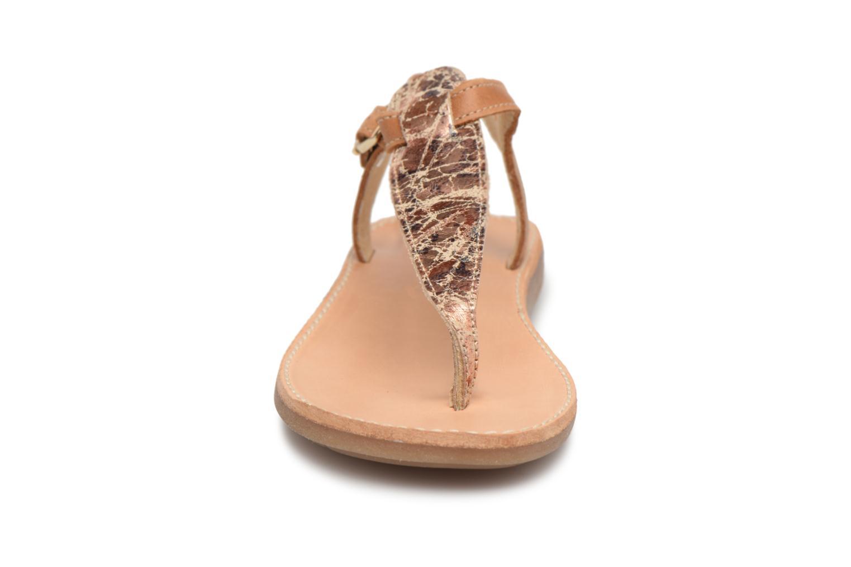 Sandali e scarpe aperte Minibel Klarice Marrone modello indossato