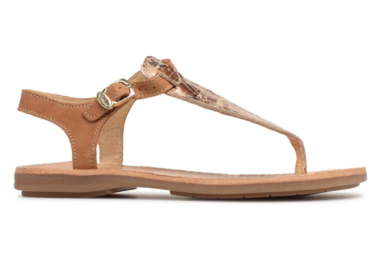 Sandali e scarpe aperte Minibel Klarice Marrone immagine posteriore