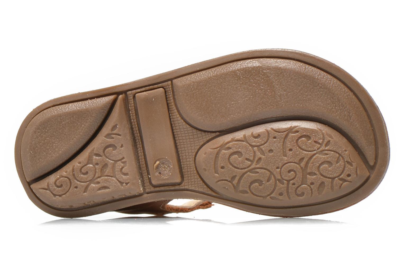 Sandales et nu-pieds Minibel Keglae Marron vue haut