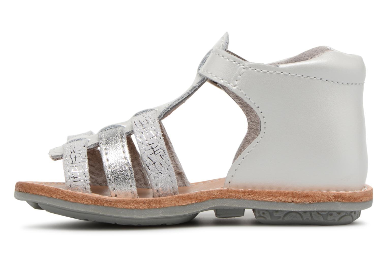 Sandali e scarpe aperte Minibel Keglae Argento immagine frontale