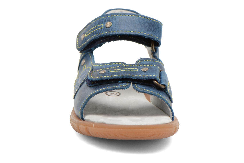 Sandales et nu-pieds Minibel Kilian Bleu vue portées chaussures