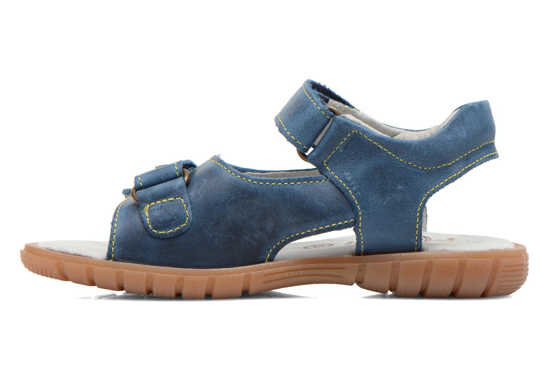 Sandales et nu-pieds Minibel Kilian Bleu vue face