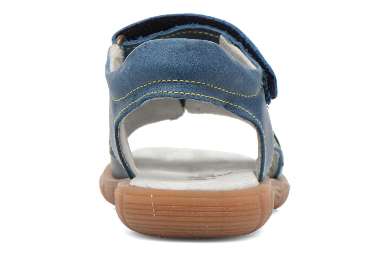 Sandales et nu-pieds Minibel Kilian Bleu vue droite