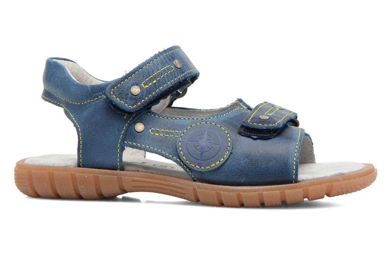 Sandales et nu-pieds Minibel Kilian Bleu vue derrière
