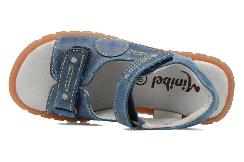 Sandales et nu-pieds Minibel Kilian Bleu vue gauche