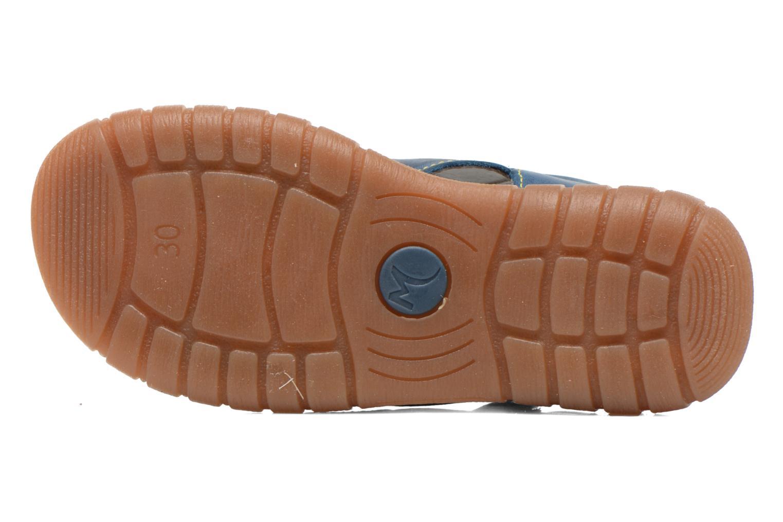 Sandales et nu-pieds Minibel Kilian Bleu vue haut