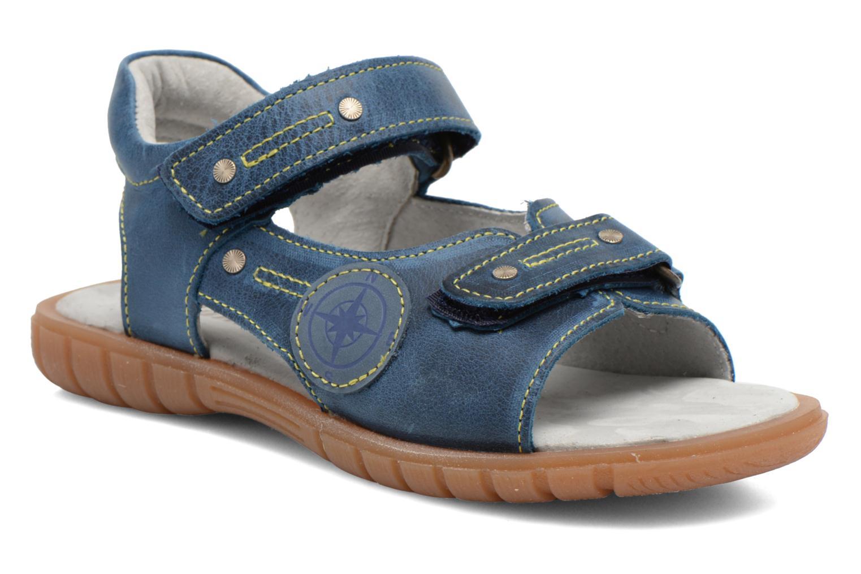 Sandales et nu-pieds Minibel Kilian Bleu vue détail/paire