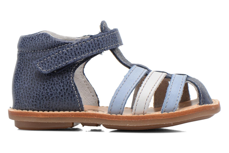 Sandales et nu-pieds Minibel Keou Bleu vue derrière