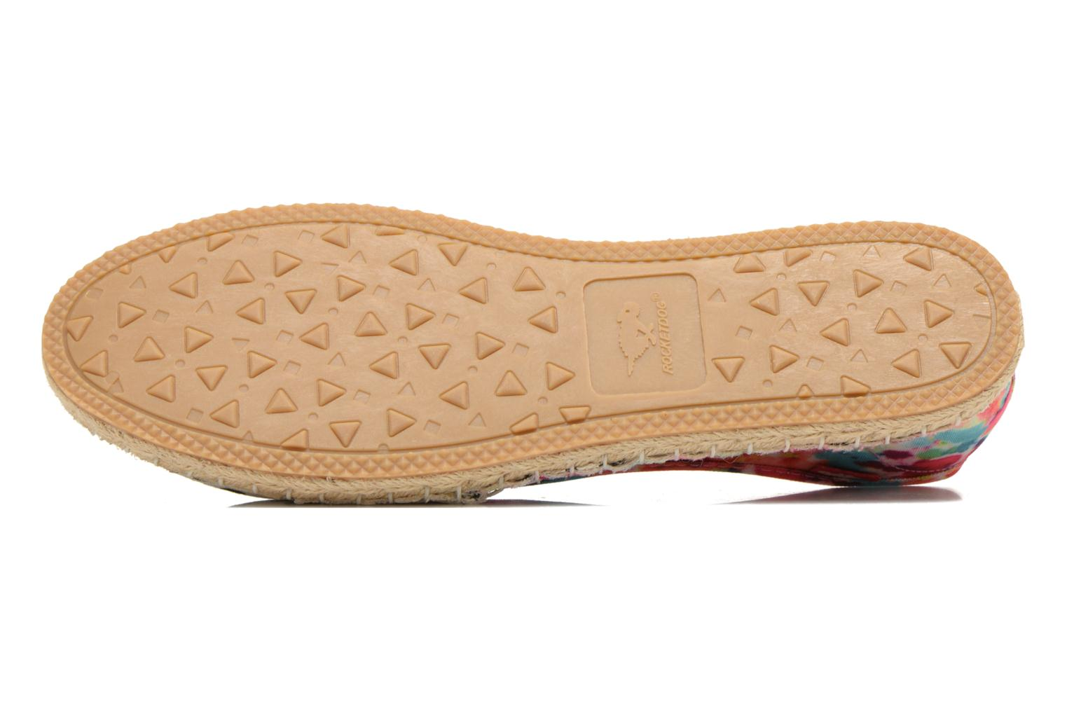 Espadrilles Rocket Dog Temple Multicolor view from above