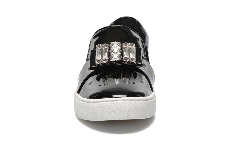 Mocassins Michael Michael Kors Michelle slip on Noir vue portées chaussures