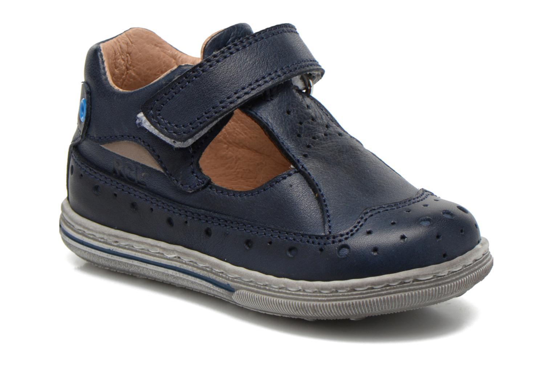 Summer boots Romagnoli Arturo Blue detailed view/ Pair view