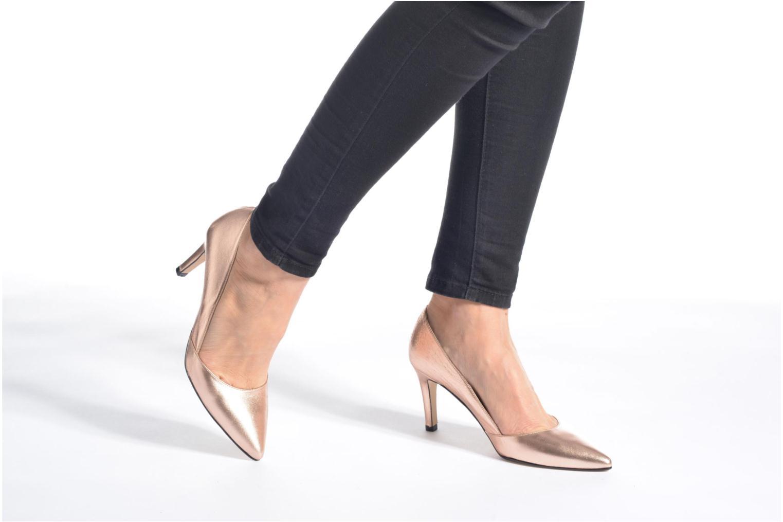 Zapatos de tacón Georgia Rose Fifillotte Oro y bronce vista de abajo