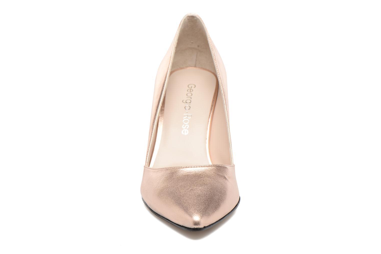 Zapatos de tacón Georgia Rose Fifillotte Oro y bronce vista del modelo